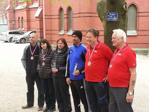 Hervé og Linda (BPK), Toini og Mostafa (BPK) og Rune og Rex (Utsira)