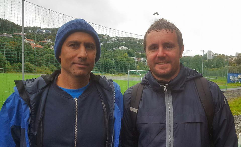 Mostafa (BPK) og Bastien (GPK)